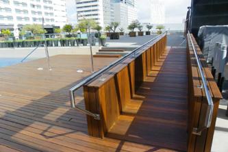 Tratamiento terraza madera exterior y tarima piscina - Tratamiento de madera para exterior ...