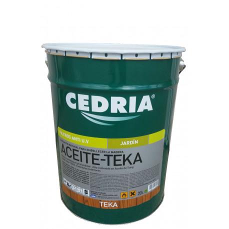 Aceite Teka para madera 20 litros