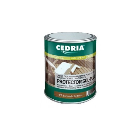 Lasur protector madera exterior Cedria Protector Sol Plus