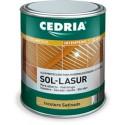Cedria Sol Lasur 20 litros. Lasur para la madera