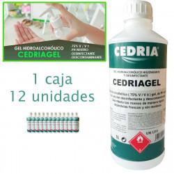 Gel hidroalchólico higienizante y desinfectante CEDRIAGEL