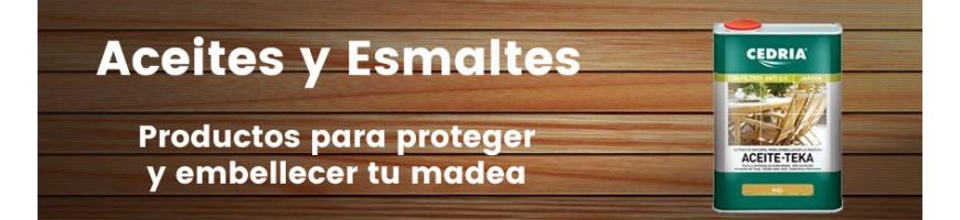 Aceites/Esmaltes para madera
