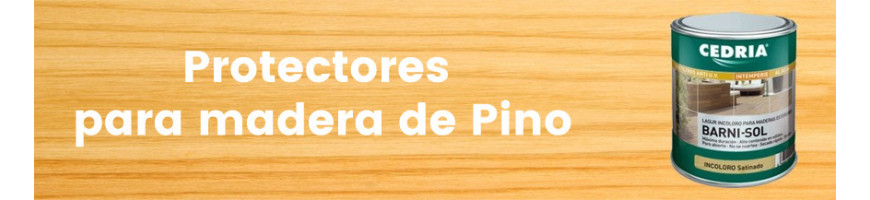 Productos para la madera de pino