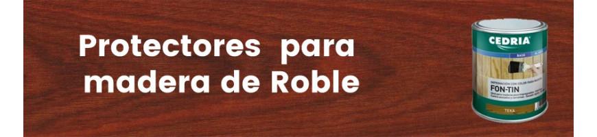 Productos para la madera de roble