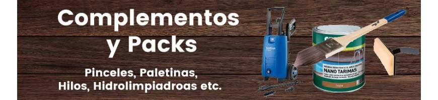 Packs de productos para la madera