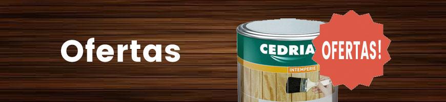 Ofertas en productos para la madera