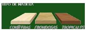 Adecuado para madera conífera