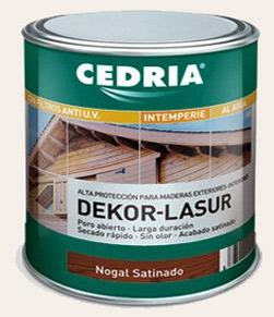 barniz lasur madera protector dekor lasur cedira