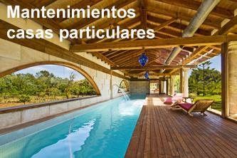 Mantenimiento madera casas particulares