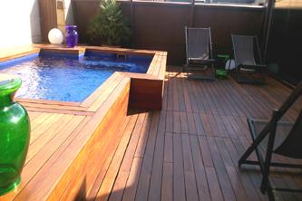 Mantenimiento terraza madera granados barcelona