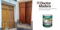 Tratamiento puerta madera